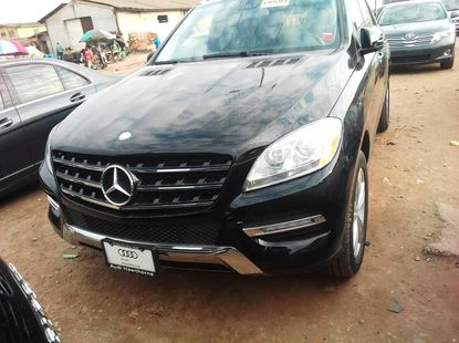 Foreign Used Mercedes-Benz ML350 2015 Model