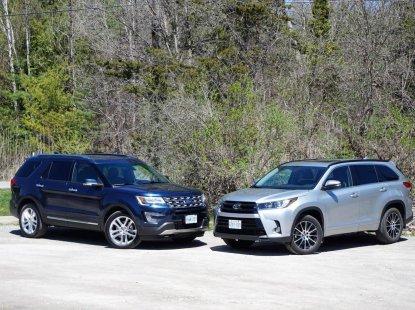 Toyota Highlander vs Ford Explorer: Expert Comparison review by Naijauto.com
