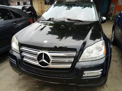 Foreign Used Mercedes-Benz GL-Class 2011 Model Black