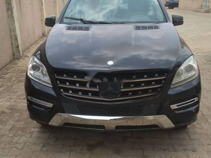 Foreign Used Mercedes-Benz ML350 2012 Model
