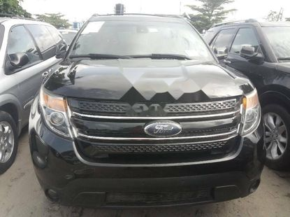 Foreign Used Ford Explorer 2013 Model Black