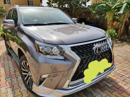 Nigeria Used Lexus GX 2012 Model Gray