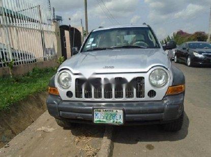 Nigeria Used Jeep Liberty 2007 Model Silver