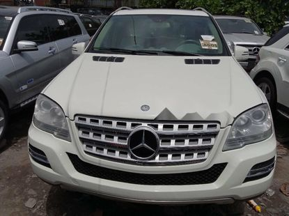 Foreign Used Mercedes-Benz ML350 2010 Model White