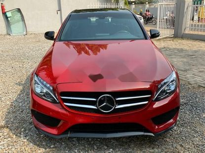 Foreign Used Mercedes-Benz C300 2016 Model Red