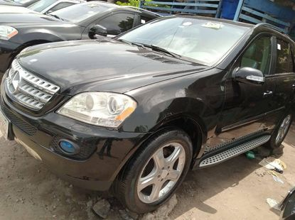 Foreign Used Mercedes-Benz ML350 2008 Model Black