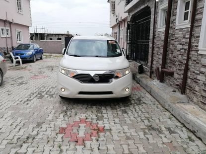 Foreign Used Nissan Quest 2013 Model White