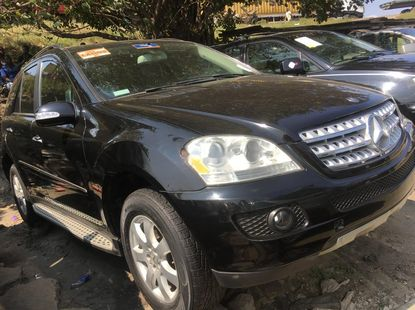 Foreign Used Mercedes-Benz ML350 2007 Model