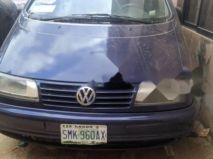 Nigeria Used Volkswagen Sharan 2004 Model Blue