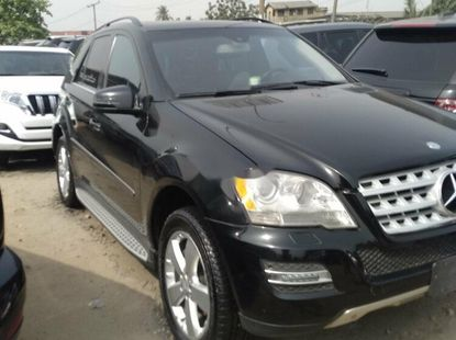Foreign Used Mercedes-Benz ML350 2010 Model Black