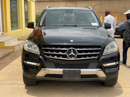 Clean Foreign Used 2012 Mercedes-Benz ML350 For Sale