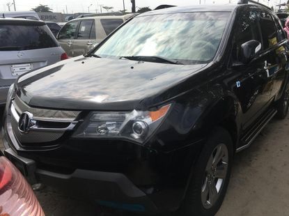 Foreign Used Acura MDX 2008 Model for sale