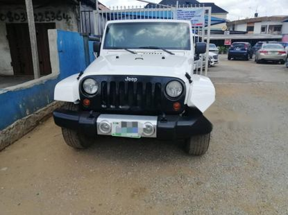 Clean Naija Used 2010 Jeep Wrangler for sale