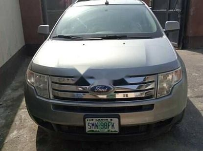 Nigeria Used Ford Edge 2007 Model Silver