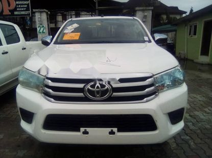 Foreign Used 2017 White Toyota 4-Runner for sale in Lagos.