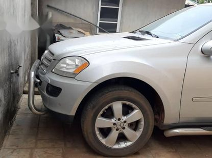 Foreign Used Mercedes-Benz ML 2006 Model Silver