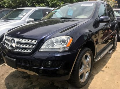 Foreign Used Mercedes-Benz ML350 2008 Model