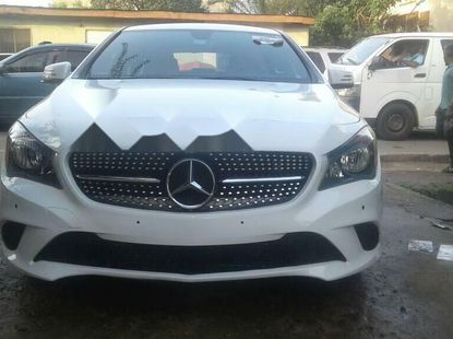 Foreign Used Mercedes-Benz CLA-Class 2014 Model White