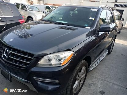 Foreign Used 2012 Grey Mercedes-Benz ML350 for sale in Lagos.