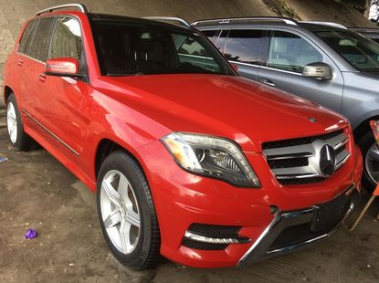 Foreign Used Mercedes-Benz GLK 2013 Model Red