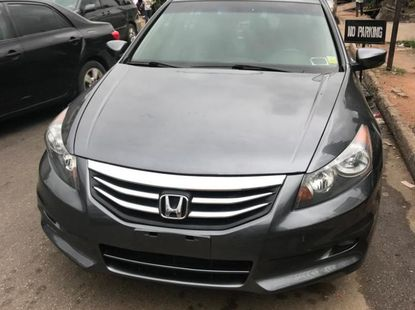 Foreign Used 2012 Dark Grey Honda Accord for sale in Lagos.