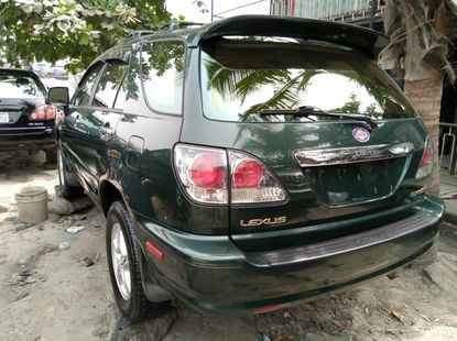 Foreign Used Lexus RX 2003 Model Green