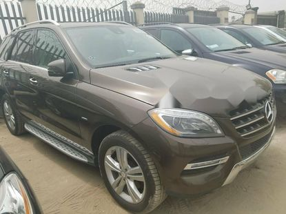 Foreign Used Mercedes-Benz ML350 2013 Model for sale
