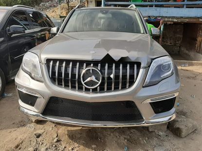 Foreign Used Mercedes-Benz GLK 2013 Model Gray