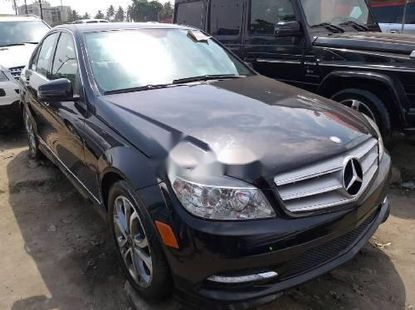 Foreign Used Mercedes-Benz C350 2009 Model Black