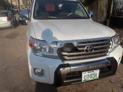 Clean Naija Used Toyota Land Cruiser 2014 Model for sale