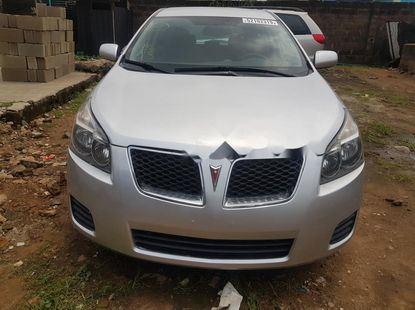 Foreign Used Pontiac Vibe 2009 Model Silver