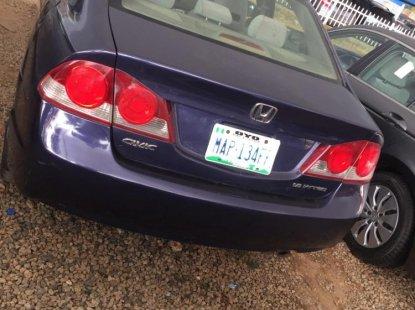 Nigeria Used Honda Civic 2007 Model Blue