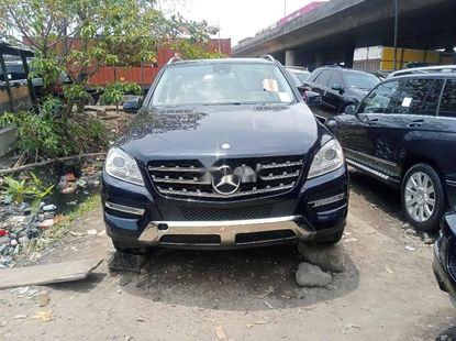 Foreign Used Mercedes-Benz ML350 2013 Model Blue