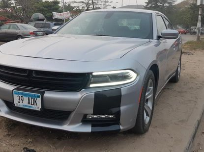 Foreign Used Dodge Charger 2015 Model Silver