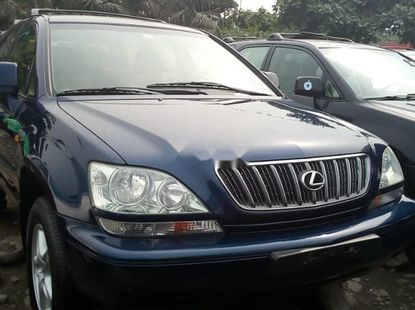 Foreign Used 2003 Blue Lexus RX for sale in Lagos.