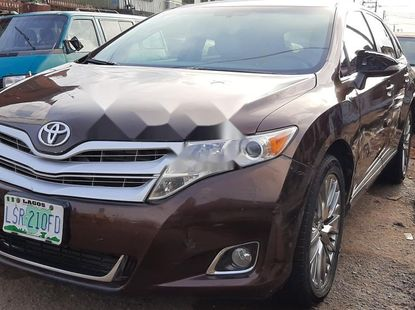 Nigeria Used Toyota Venza 2012 Model Brown
