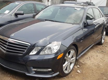Foreign Used Mercedes-Benz E350 2012 Model Gray