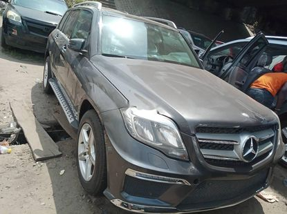 Foreign Used 2012 Grey Mercedes-Benz GLK for sale in Lagos.