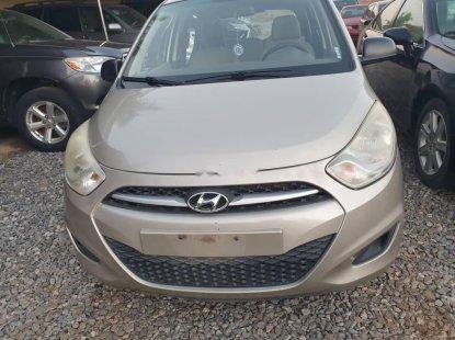 Nigeria Used Hyundai i10 2011 Model Silver