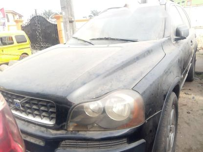 Foreign Used Volvo XC90 2004 Model Black