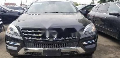 Foreign Used Mercedes-Benz ML350 2013 Model Gray