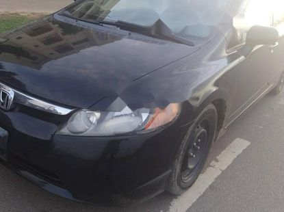 Foreign Used Honda Civic 2007 Model Black