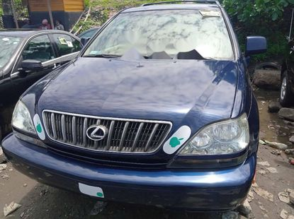 Foreign Used Lexus RX 2003 Model Blue