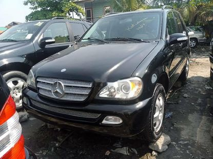 Foreign Used Mercedes-Benz ML350 2003 Model Black