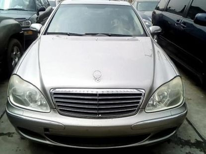 Foreign Used Mercedes-Benz S-Class 2006 Model Silver