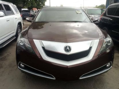 Foreign Used 2010 Brown Acura ZDX for sale in Lagos.