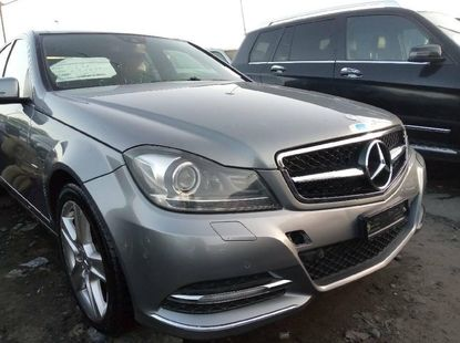 Foreign Used 2012 Grey Mercedes-Benz C300 for sale in Lagos.