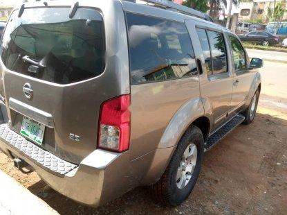 Clean Naija Used Nissan Pathfinder 2005 Model for sale