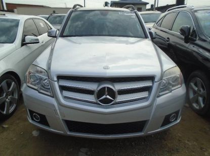 Clean Foreign Used Silver Mercedes-Benz GLK 2012 Model