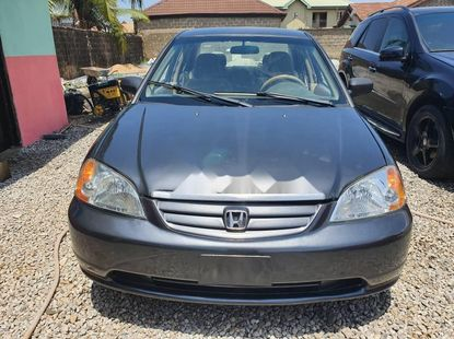 Locally Used 2003 Grey Honda Civic for sale in Lagos.